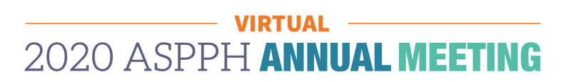 Updated: 2020 ASPPH Virtual Annual Meeting